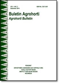 Vol 4, No 3 (2016): Buletin Agrohorti