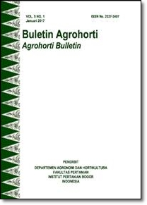 Vol 5, No 1 (2017): Buletin Agrohorti
